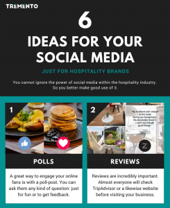 6 Free Ideas for your hospitality brand's social media