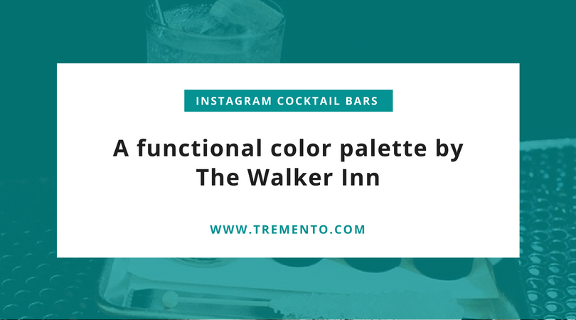 Instagram Cocktail Bar - Hospitality Content Creation - The Walker Inn