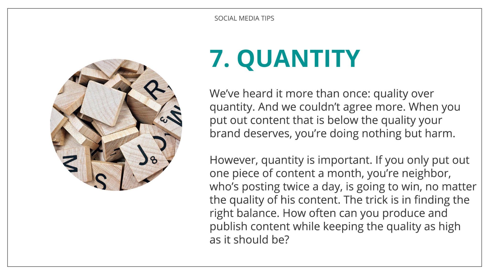 Social Media Tips Tremento for Hospitality 7