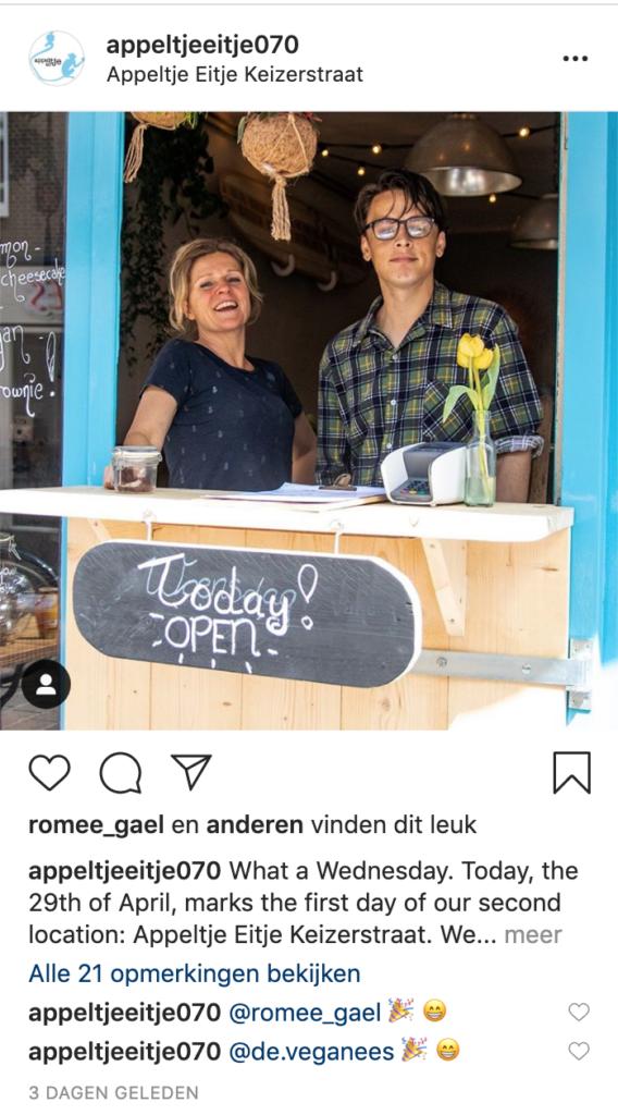 Appeltje Eitje - Instagram - Tremento