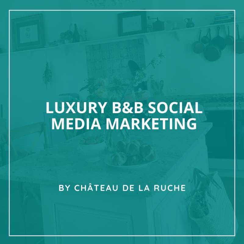 Luxury bed an breakfast marketing