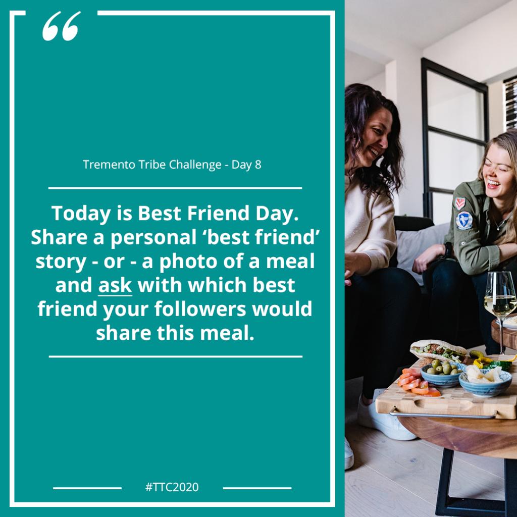 Best Friend Day - Social Media Instagram Marketing