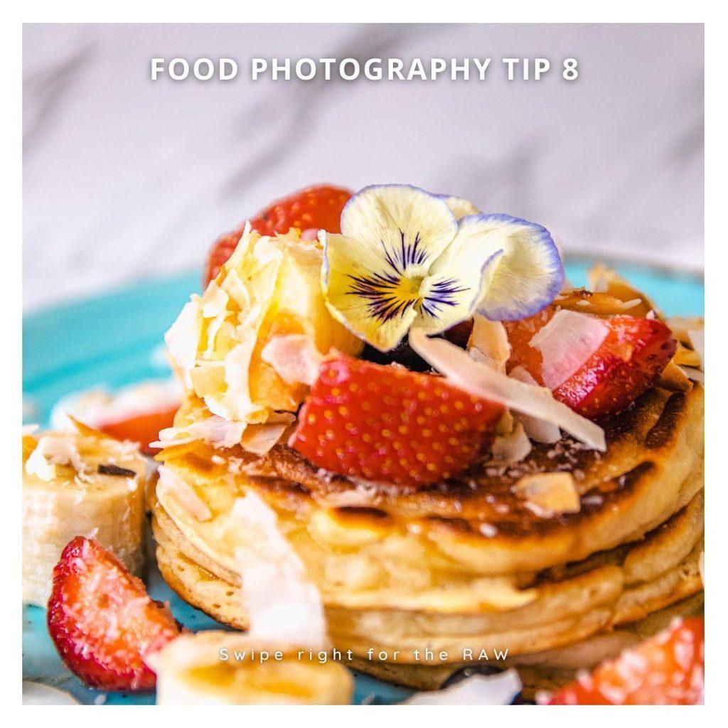 Food Photography Class - Edit photos