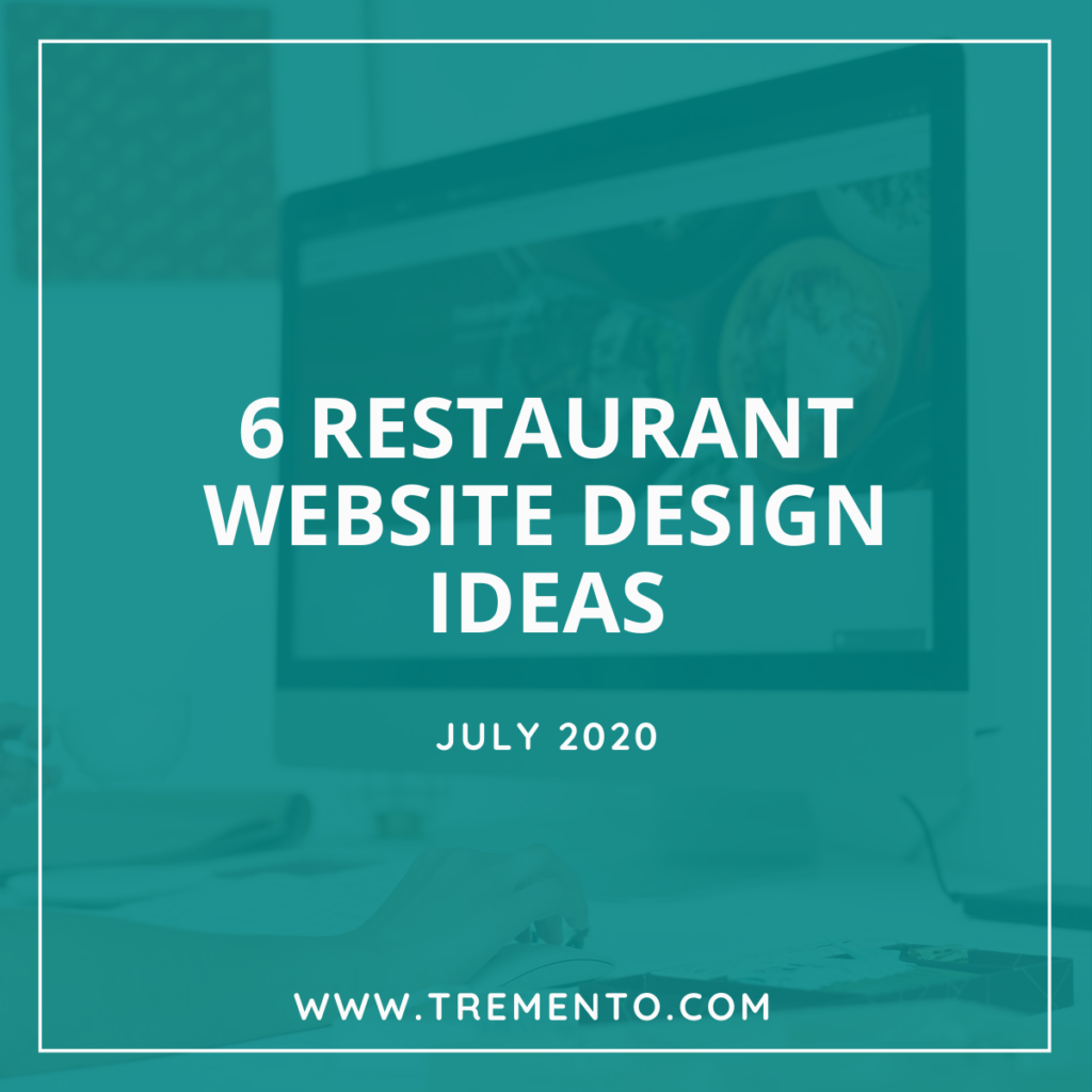 Restaurant Website Design Ideas - 6 examples