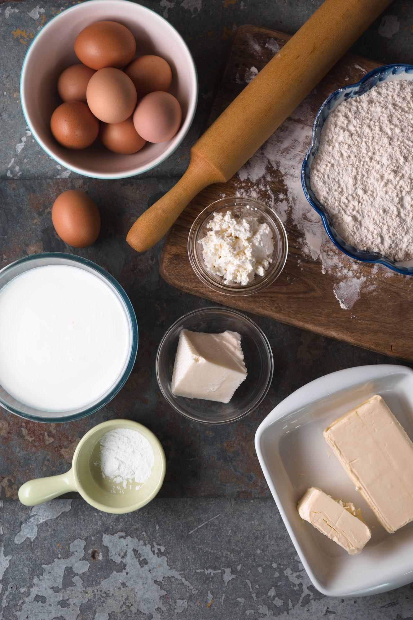 Recipe for the Georgian Khachapuri dish free space