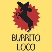 Creative restaurant logos, Burrito Loco logo