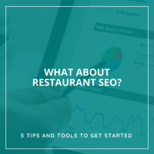 Restaurant SEO - 5 tools to get started