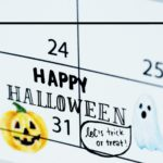 Halloween calendar reminder