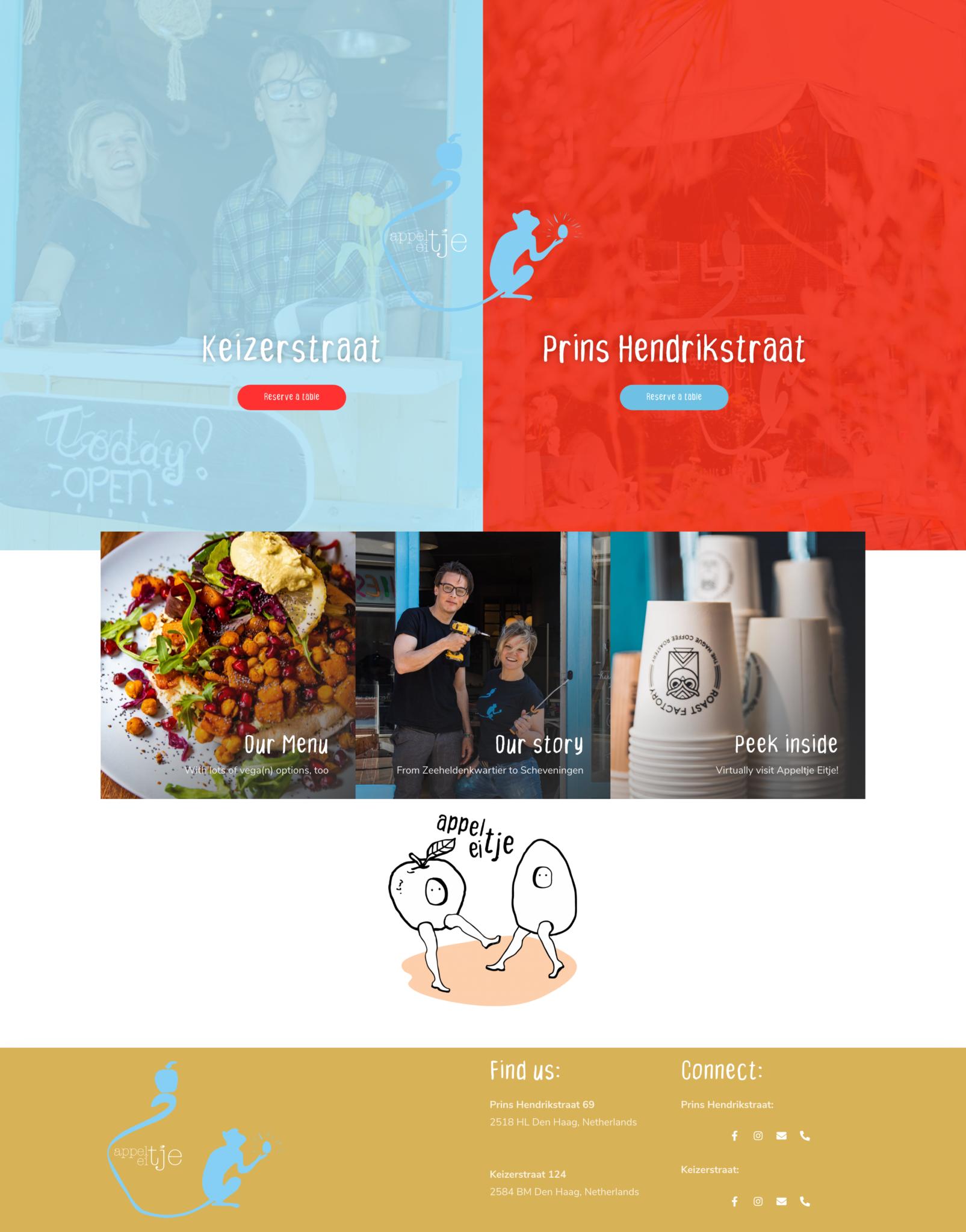 Appeltje Eitje Website Design Den Haag