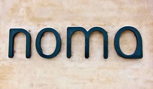 Creative restaurant logos, Noma restaurant logo