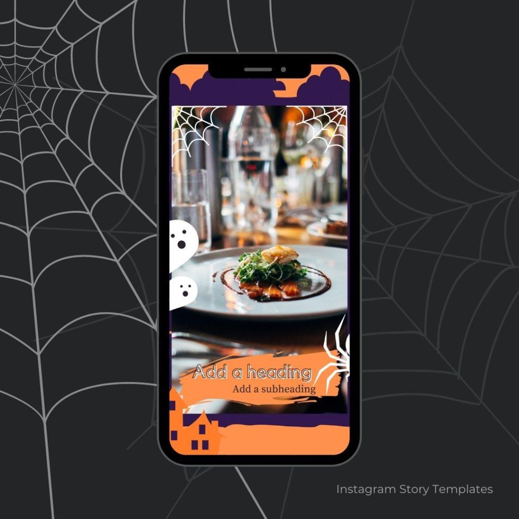 Halloween Instagram Story Template
