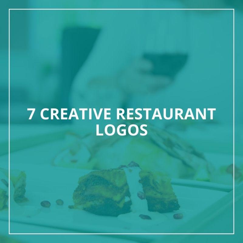 7 creative restaurant logos