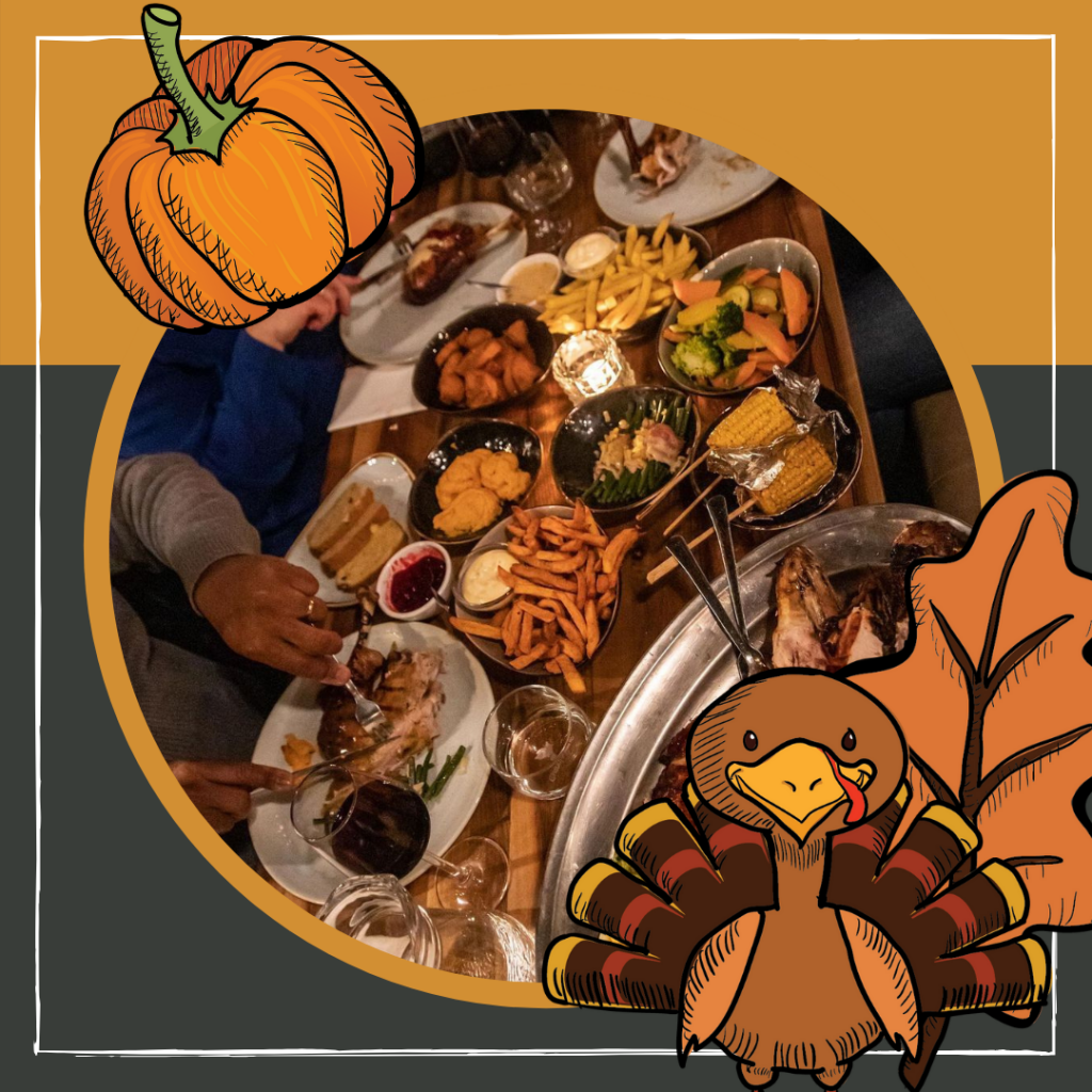 Restaurant Thanksgiving Instagram Post