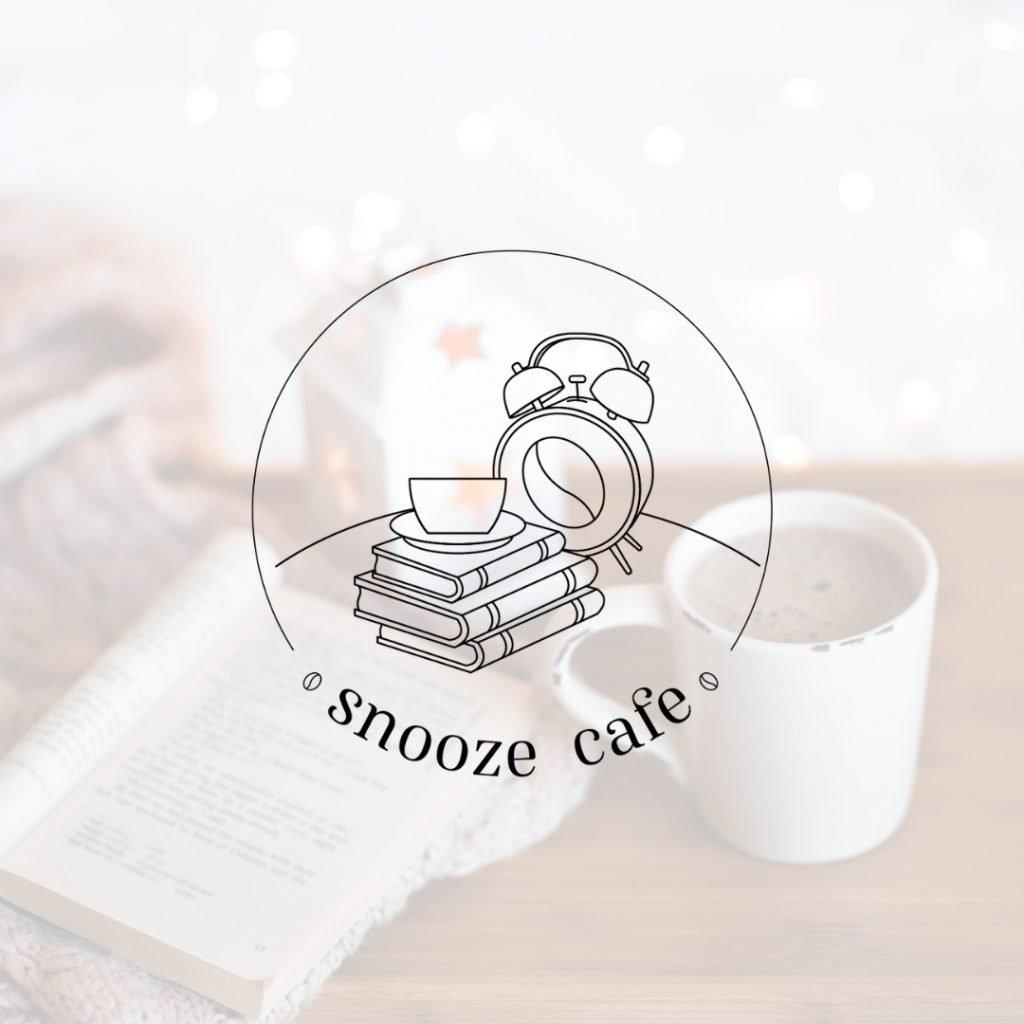 Snooze Cafe Coffee Shop Logo Design