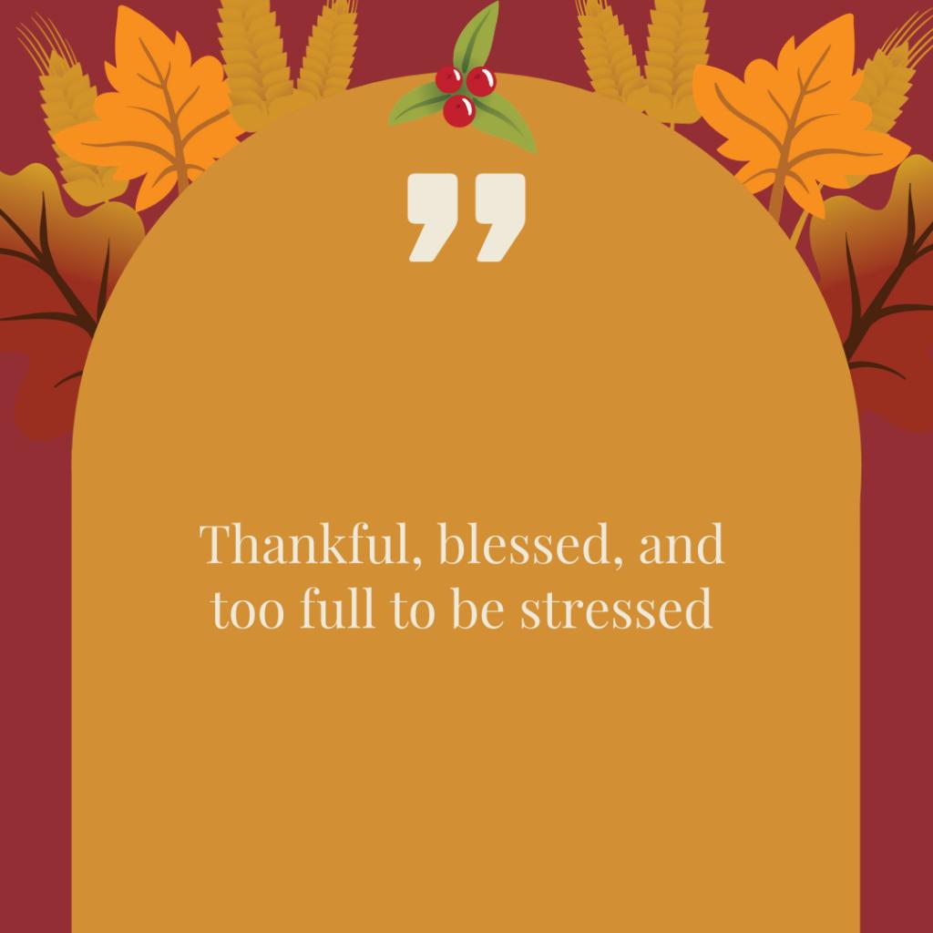 Thanksgiving Instagram Captions 1