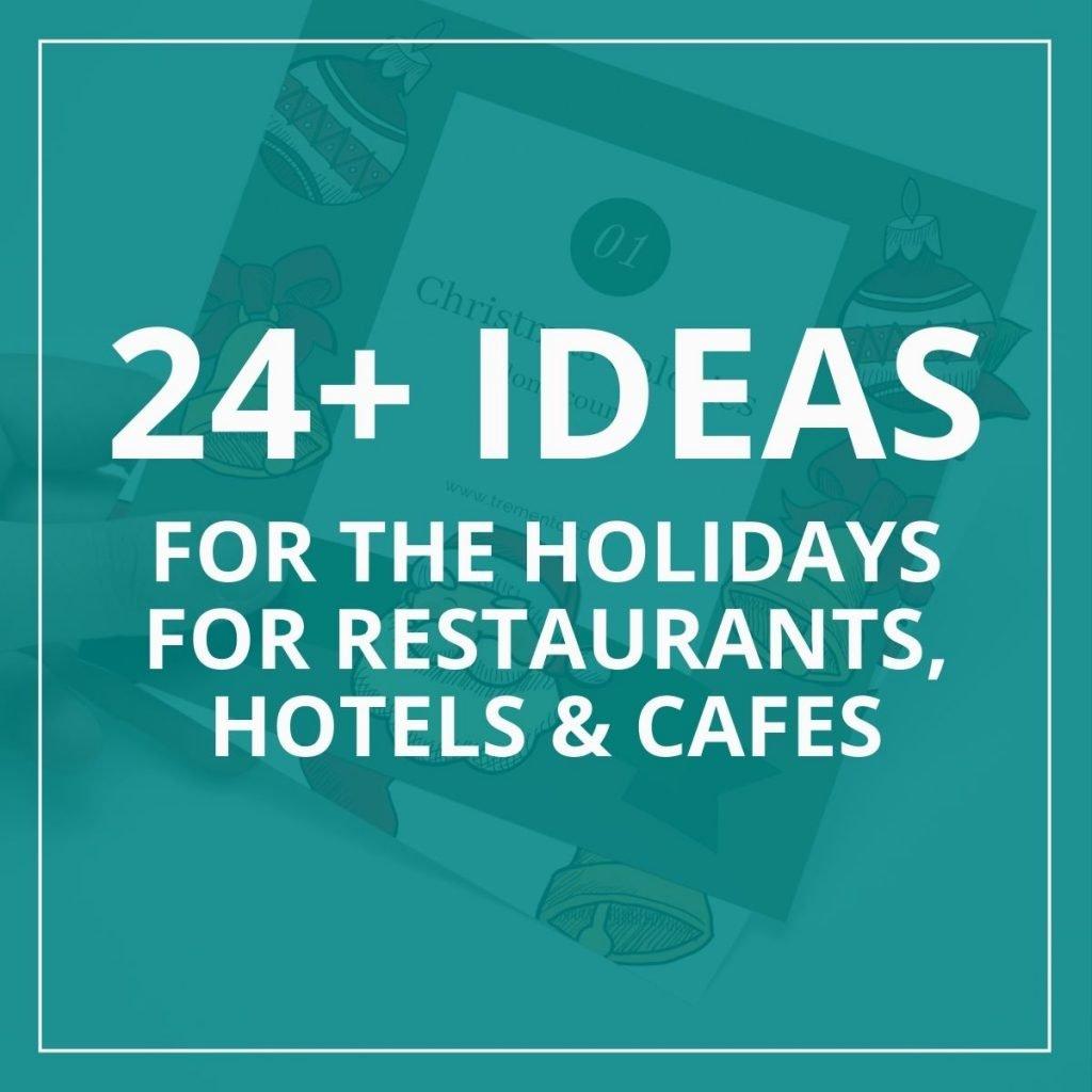 restaurant christmas ideas