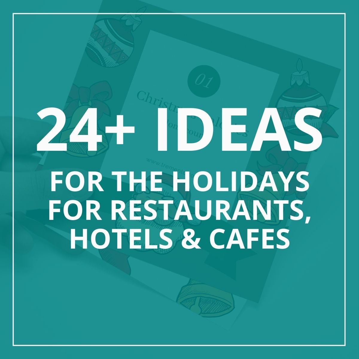 restaurant christmas ideas