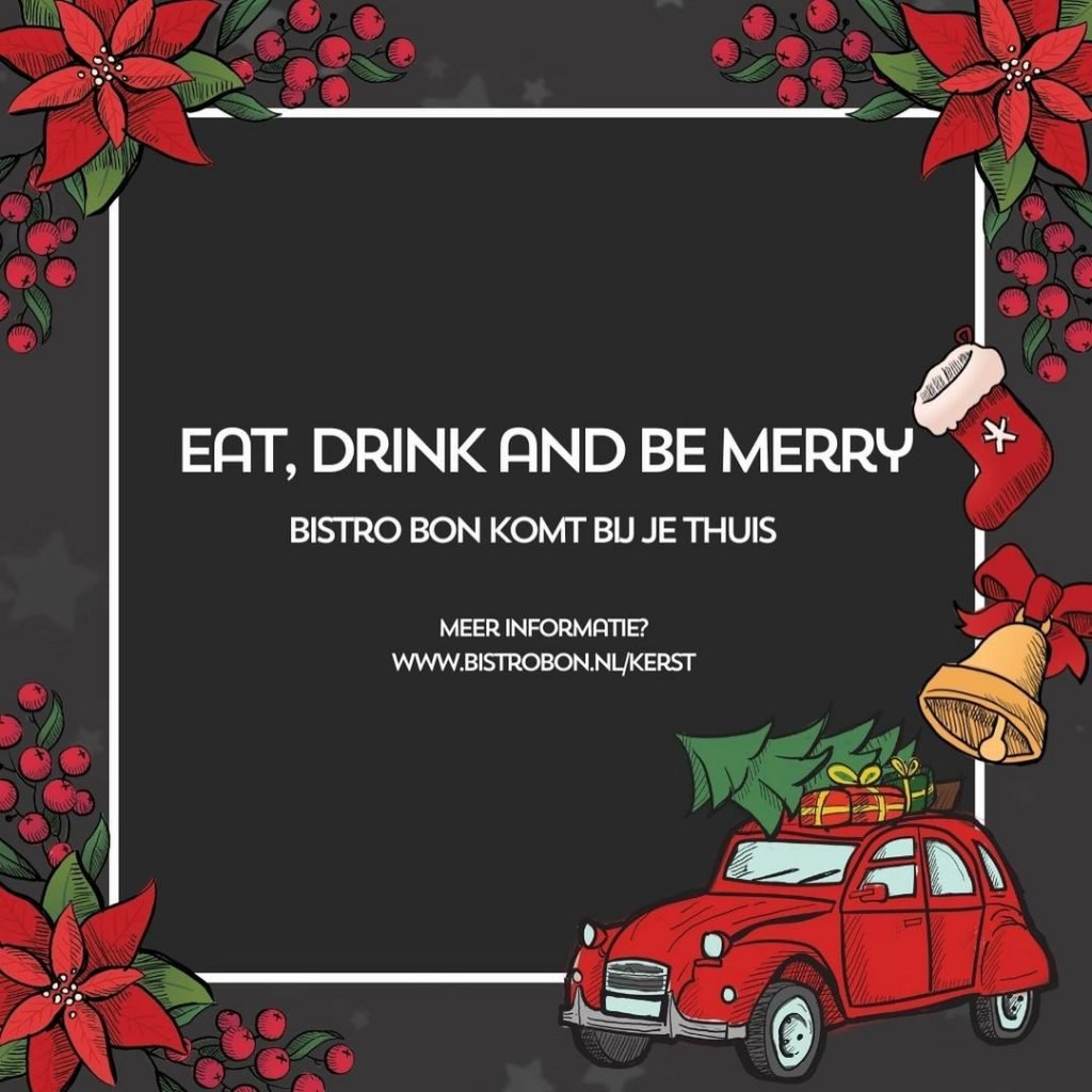Restaurant Christmas Social Media Post