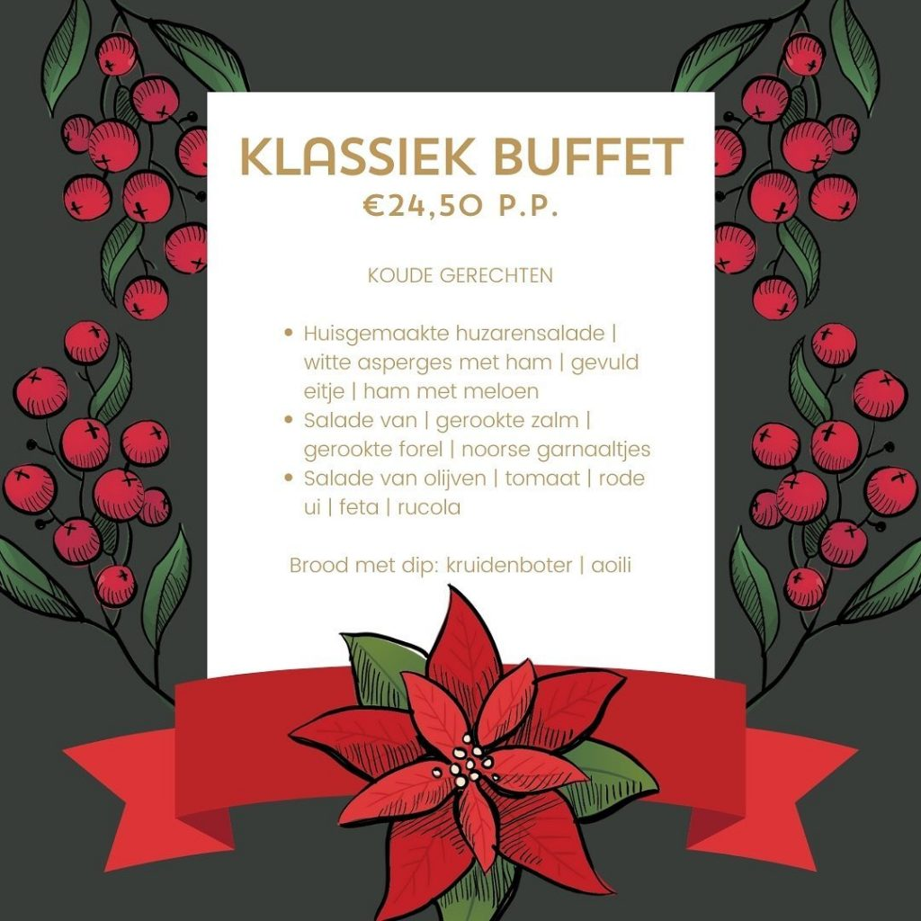 Restaurant Christmas Menu Design