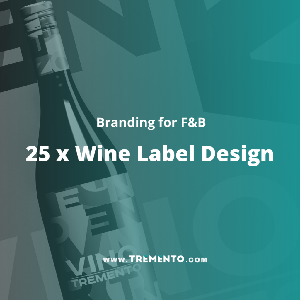 25 x Wine Label Design