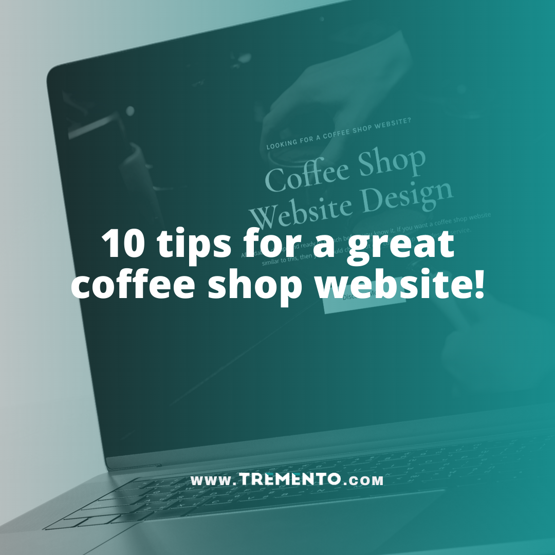 Coffee Shop Website Tips