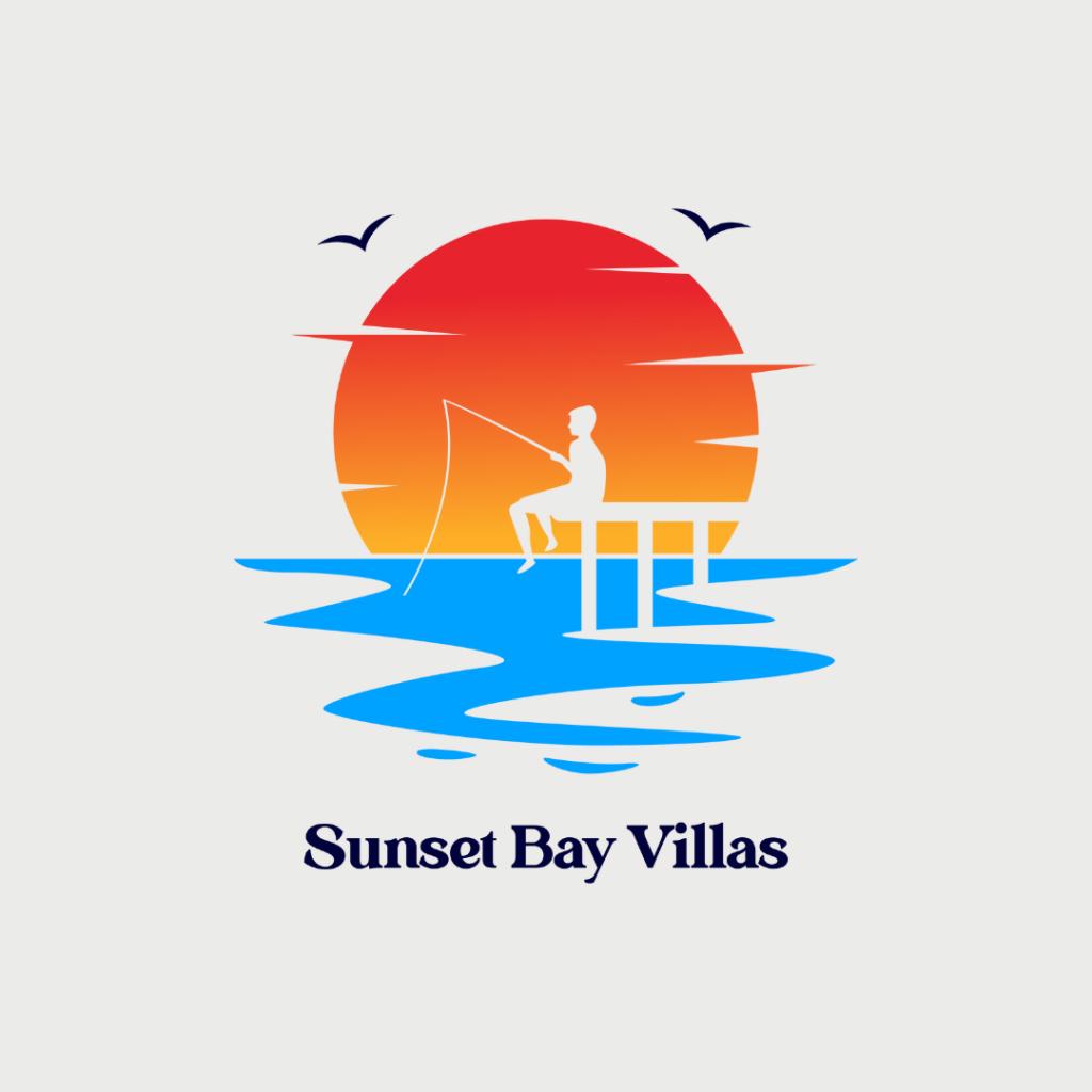 Luxury Villa Logo - Sunset Bay Villas