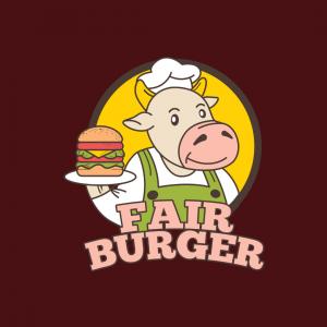 Fantastic Vegan Burger Logo