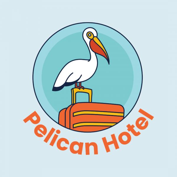 Fun Beach Hotel Logo - Pelican Hotel