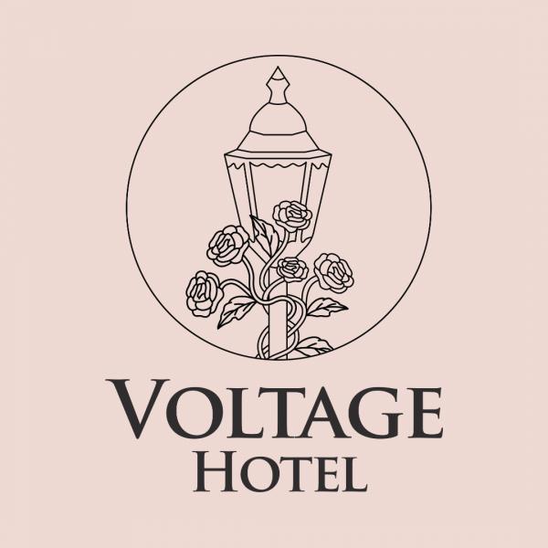 Stunning 5 Stars Hotel Logo - Voltage Hotel