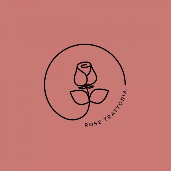 Dainty Italian Restaurant Logo- Rose Trattoria