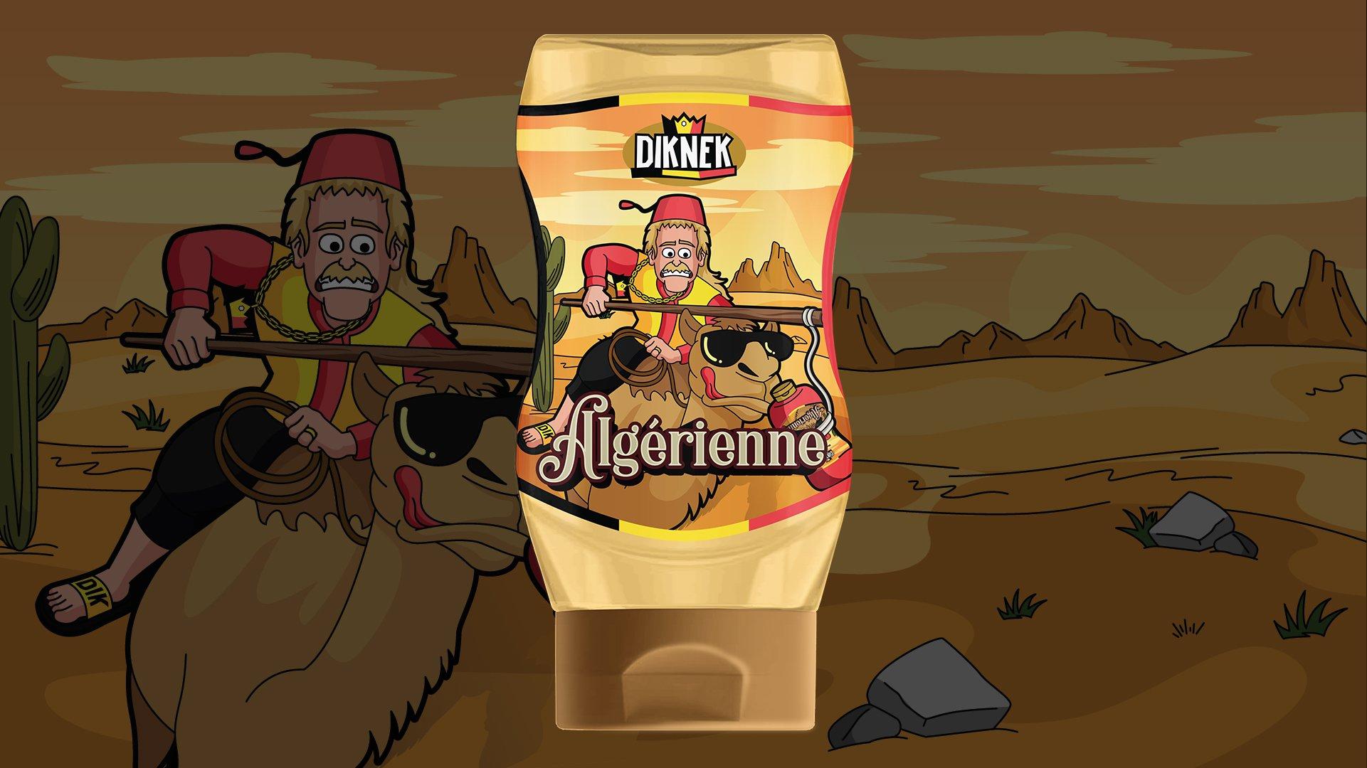 DIKNEK Sauce Label Design