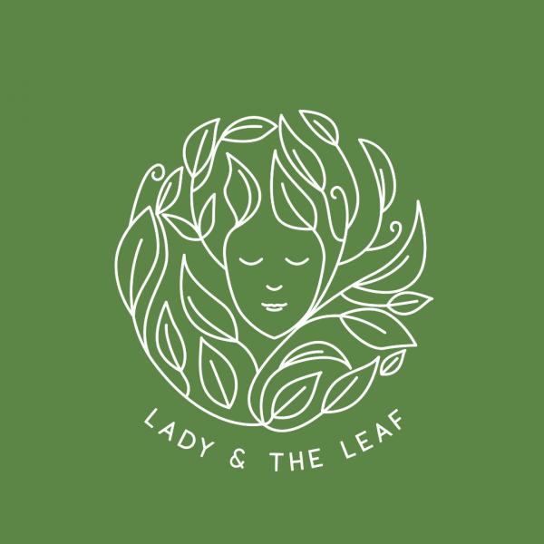 Health Food Logo - Lady & the Leaf