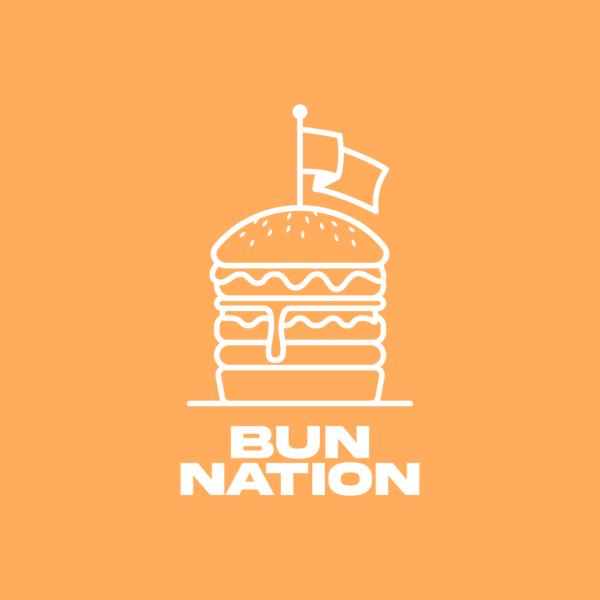 Unique Burger Grill Logo - Bun Nation