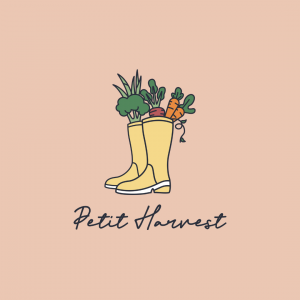 Fine Dining Restaurant Logo - Petit Harvest