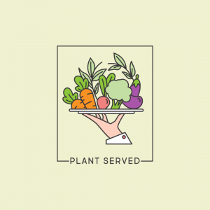 Logo for Healthy Food Place - Plant Served