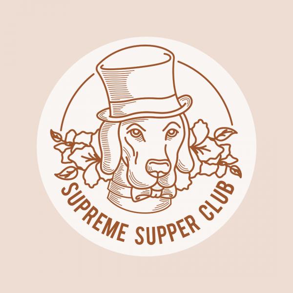 Fun Restaurant Logo - Supreme Supper Club