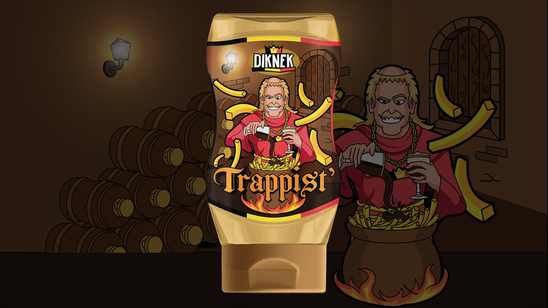 DIKNEK Trappist' Label Design