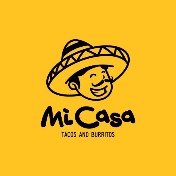 Mexican Restaurant Logo - MiCasa