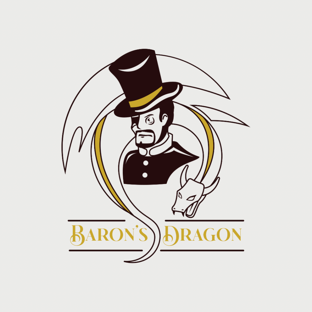 Imaginative Logo for Restaurant - Baron's Dragon