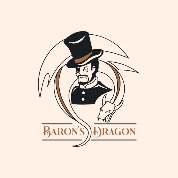 Imaginative Logo for Restaurant – Baron's Dragon