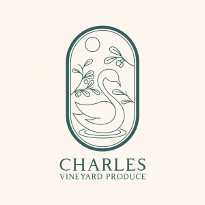 Wine Logo Design - Charles Vineyard Produc