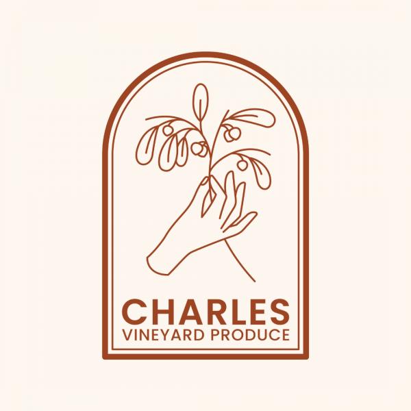 Chic Vineyard Logo - Charles Vineyard Produce