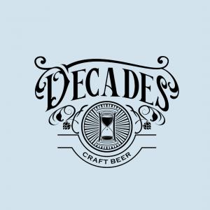 Creative Beer Logo - Decades