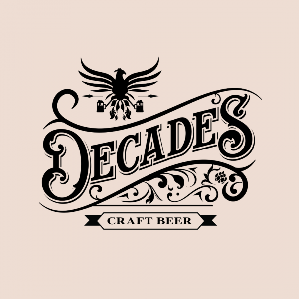 Cool Beverage Logo - Decades