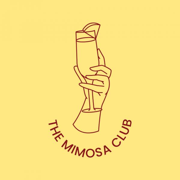 Trendy Mimosa Logo - The Mimosa Club